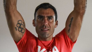 Argentina goalie Vivaldi looking to add another gold and tattoo to his collection