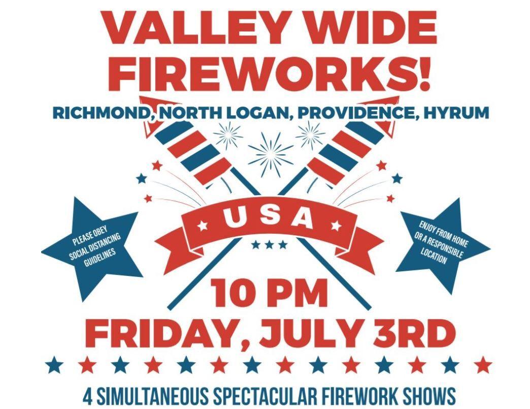 Valley Wide Fireworks Flyer