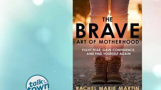 "Single Mother of 7's New Book ""The Brave Art of Motherhood"""