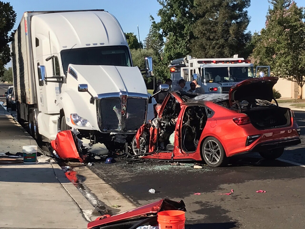 Palm Ave Accident, July 4, 2021