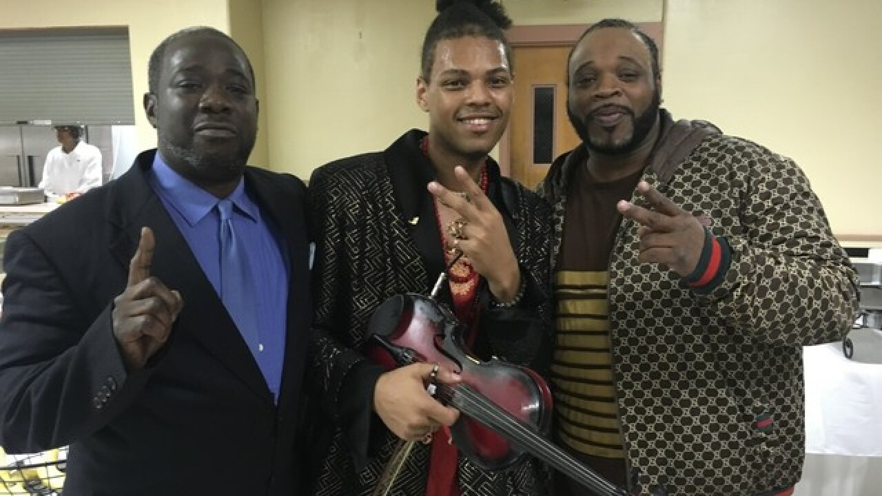 Musician hopes to start movement through music