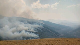 Containment grows on Bear Creek fire buning southwest of Dillon