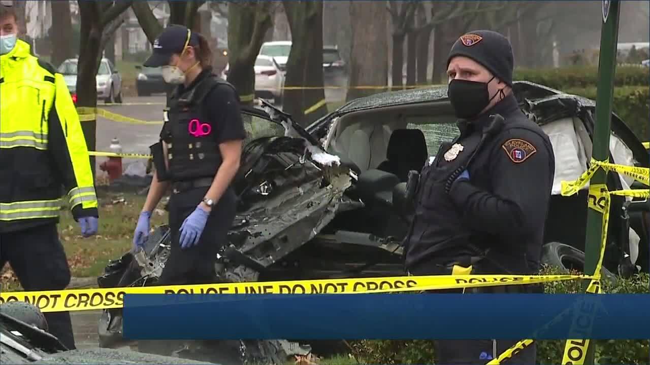 Cleveland fatal 5-vehicle crash