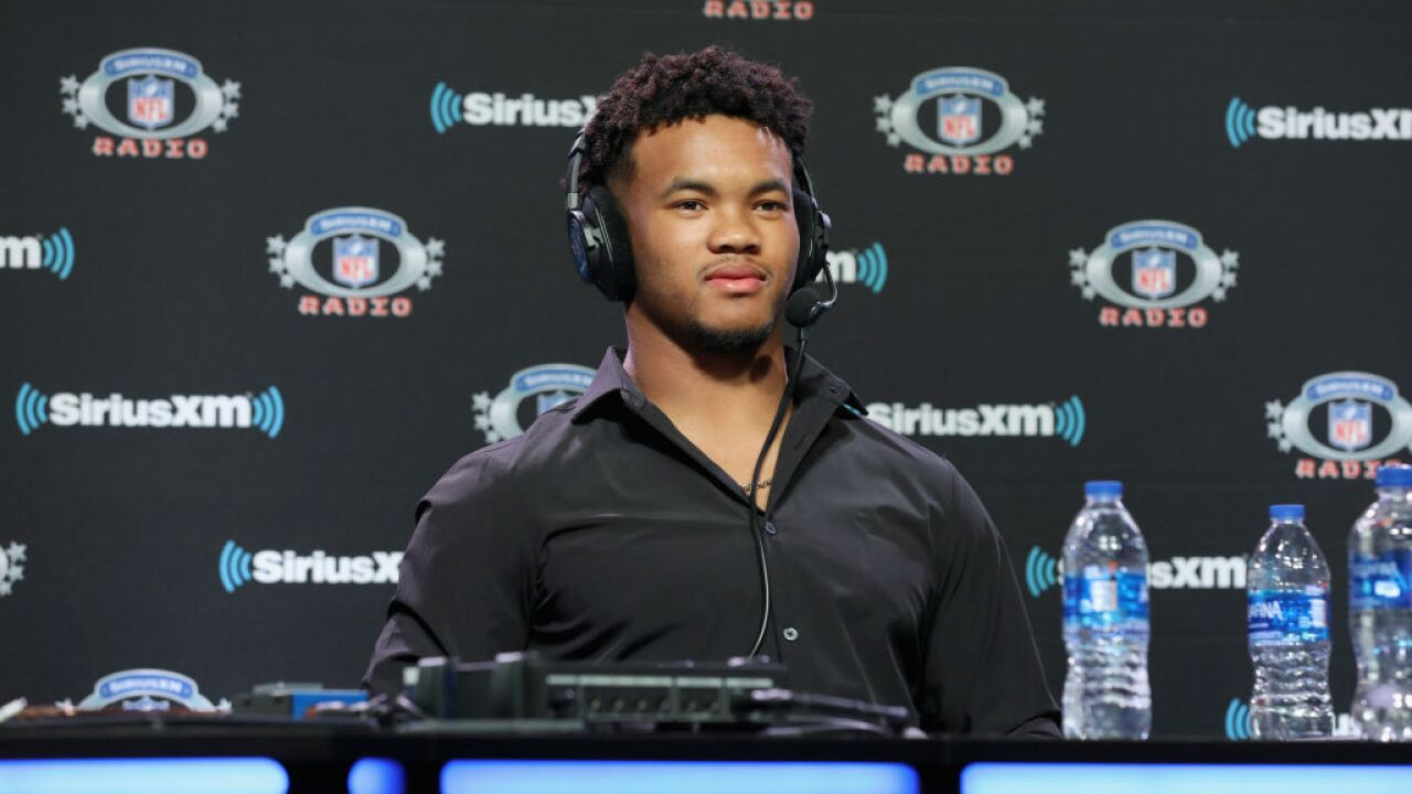 Heisman winner Kyler Murray picked first at the NFL Draft after spurning baseball