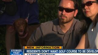 Residents don't want golf course to be redeveloped