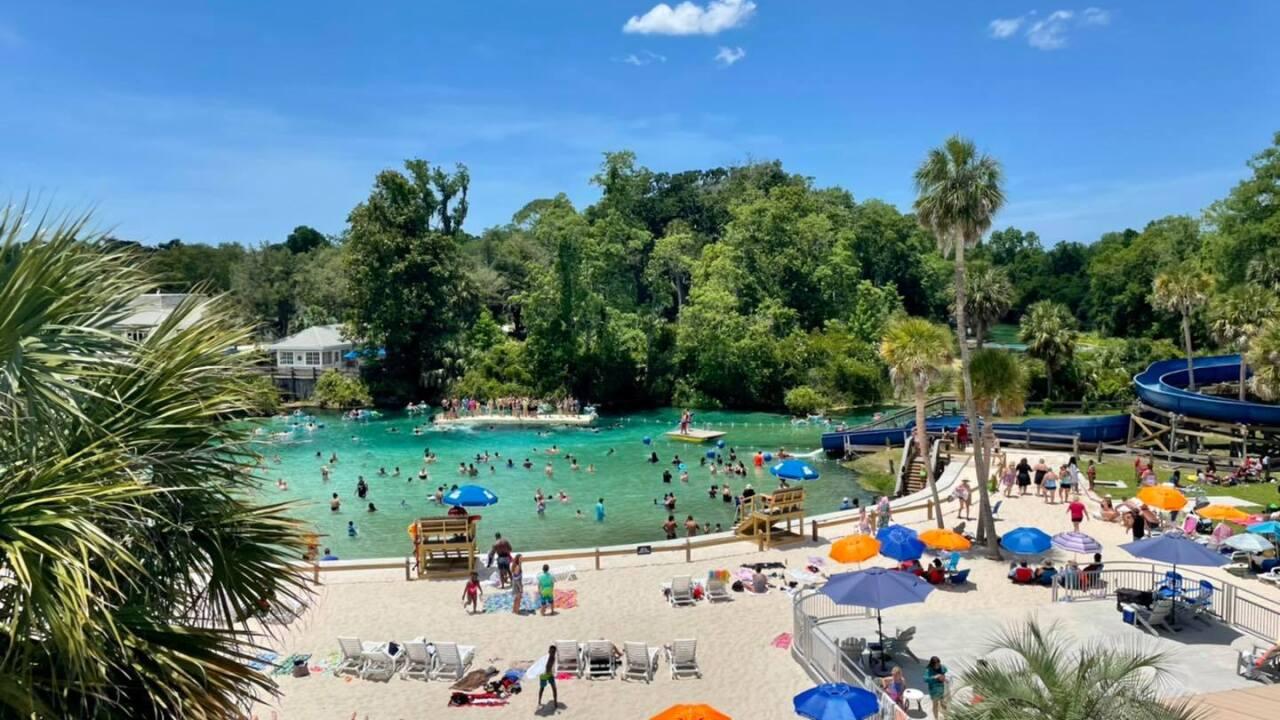 Weeki Wachee's Buccaneer Bay water park