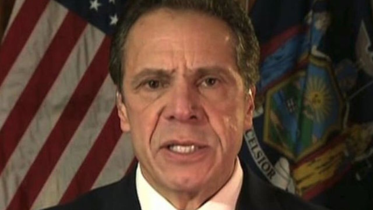 New York Gov. Cuomo: GOP tax law will 'pillage' blue states