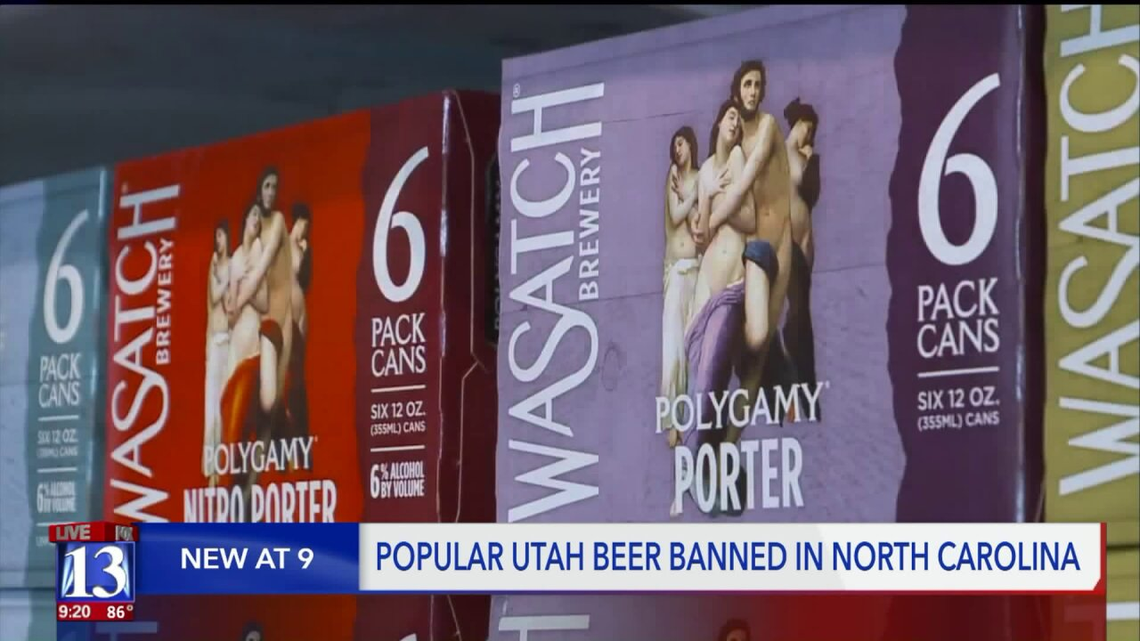 Popular Utah beer rejected by North Carolina because 'polygamy is illegal'