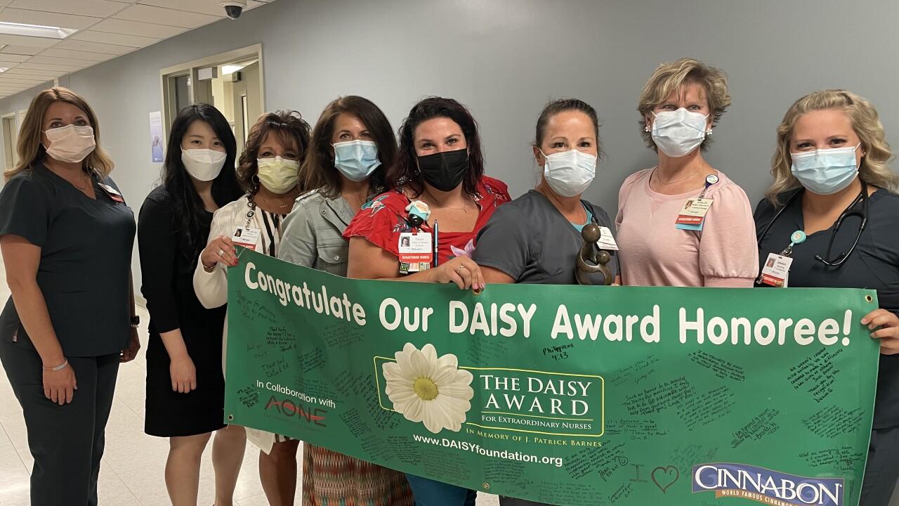 Lisa Campbell receives DAISY Award