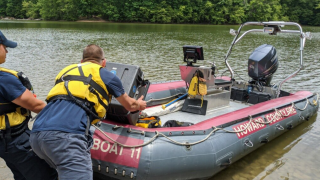 Howard Co Fire & EMS Patuxent River Rescue Missing Swimmer