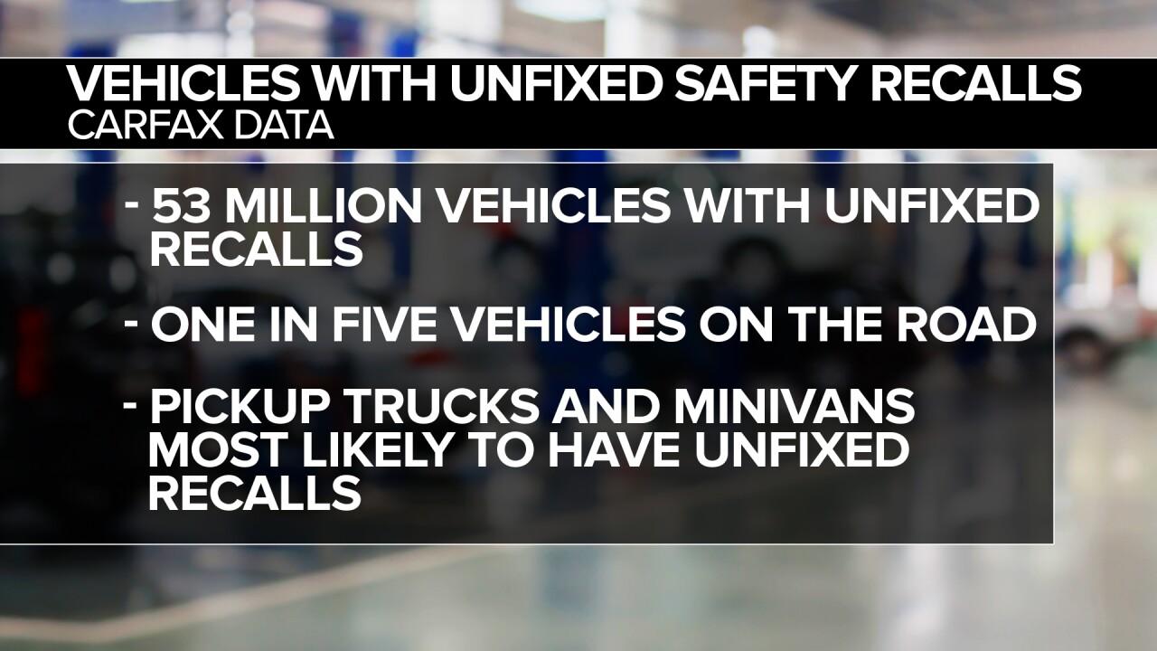 Carfax - Safety Recalls