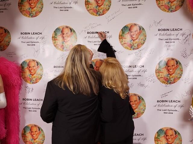 PHOTOS: A Celebration of Life for Robin Leach