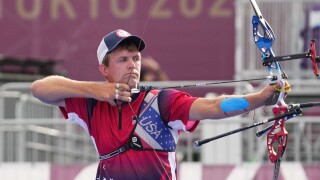 Jacob Wukie advances to all-U.S. matchup in archery eliminations
