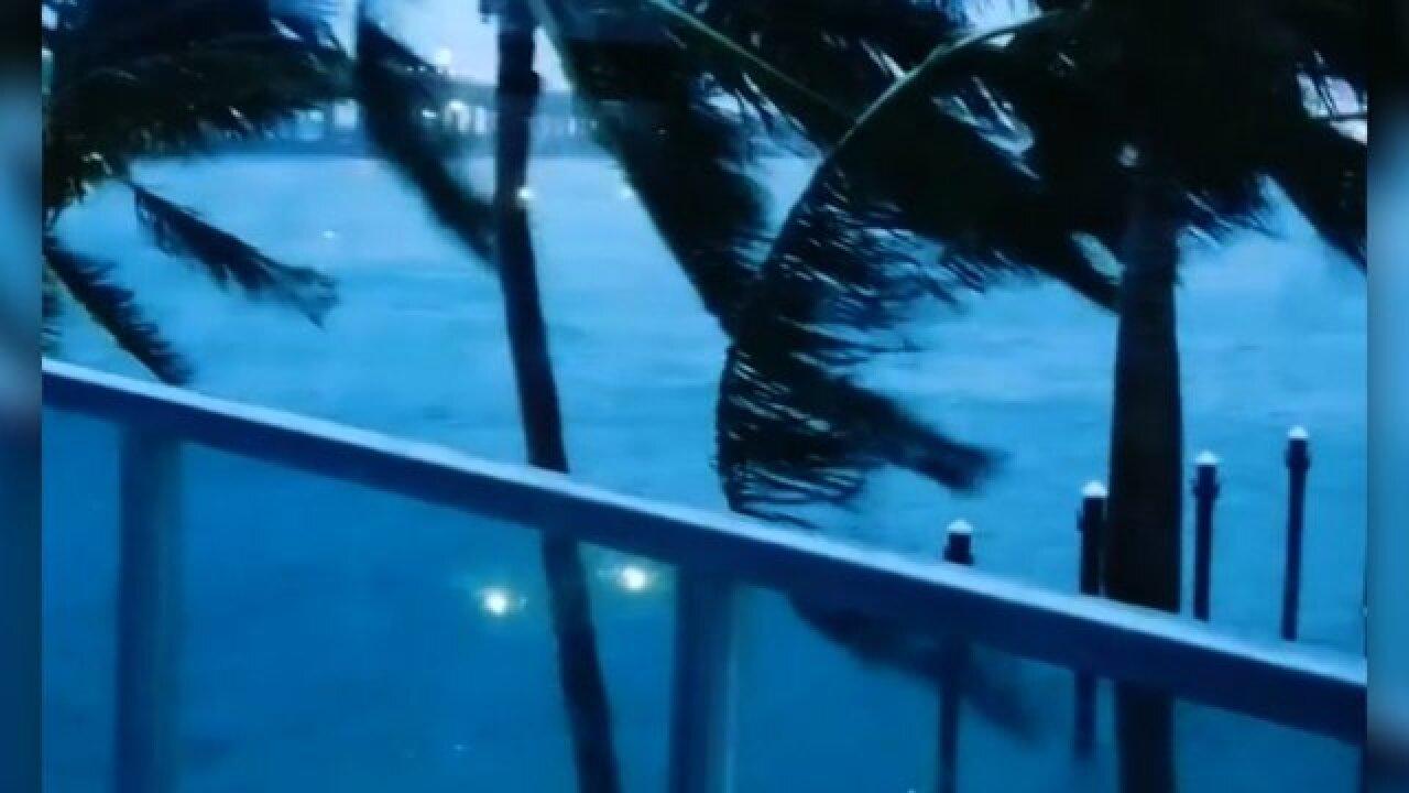 Irma roars into Florida as a Category 4