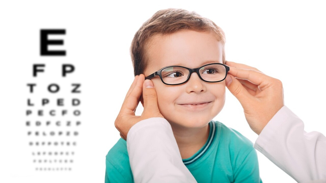 Impact Vision Therapy eye chart