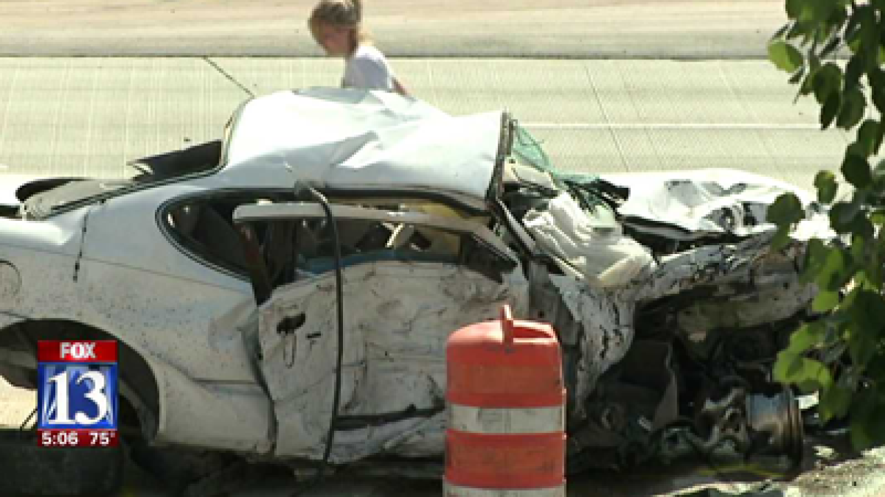 Victim in Bangerter Hwy. crash identified