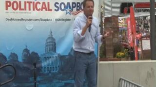Bullock's prez campaign runs TV ads in Iowa – as poll numbers languish