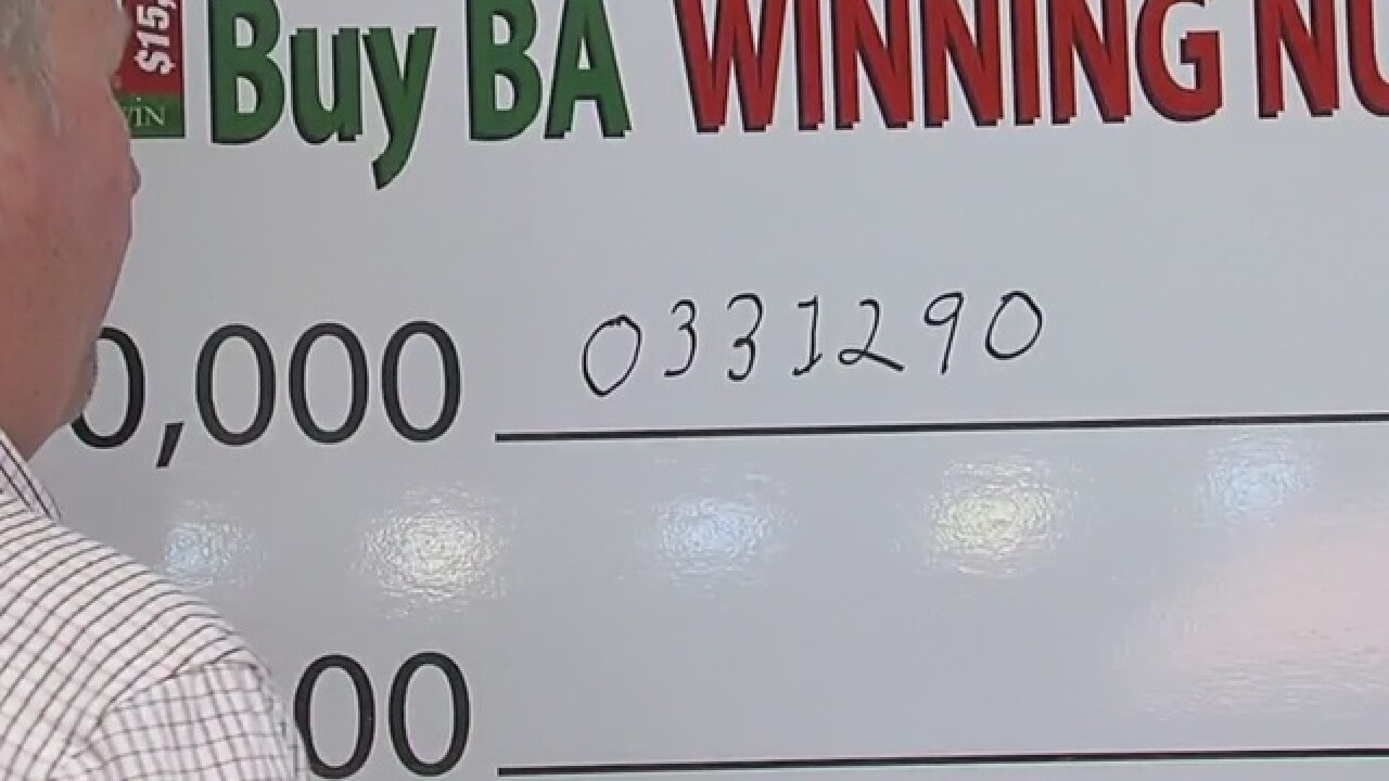 Buy BA winning numbers announced