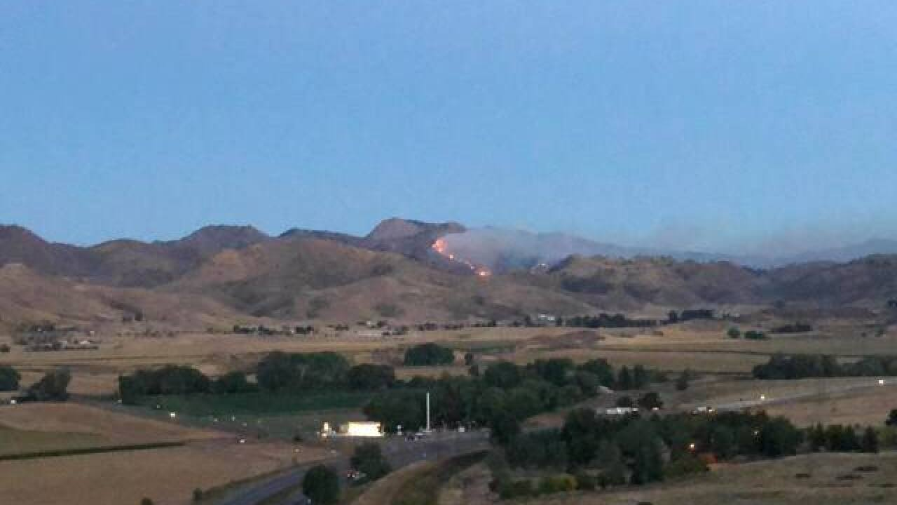 Seaman Fire in Larimer Co grows to 100-200 acres