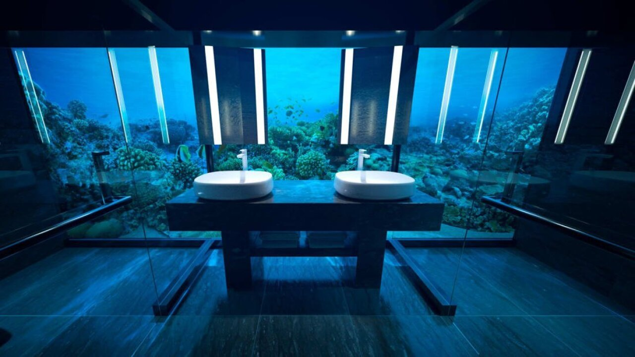 World's first underwater hotel residence opens in Maldives