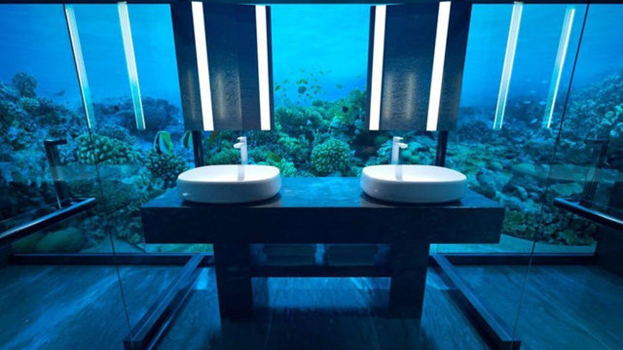 World's first underwater hotel residence opens