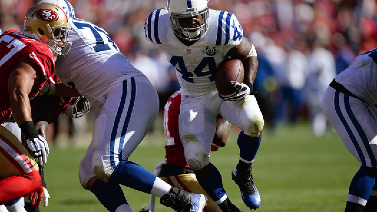 Colts top 49ers in overtime 26-23