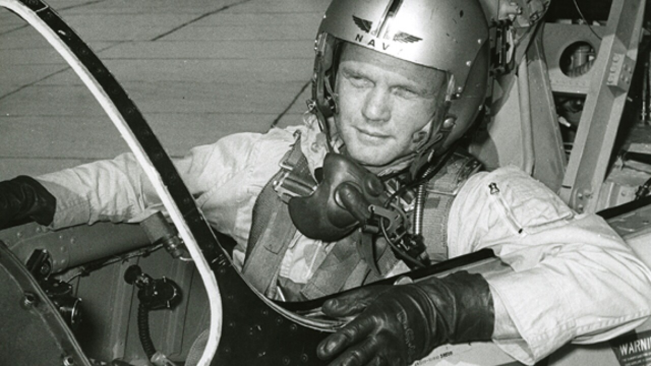 John Glenn's 'Project Bullet' helmet up for auction