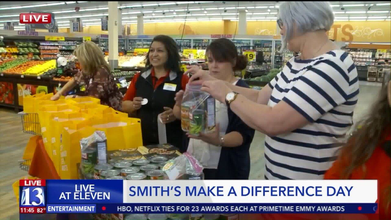 Smith's helps feed hungry Utahns on Make a Difference Day