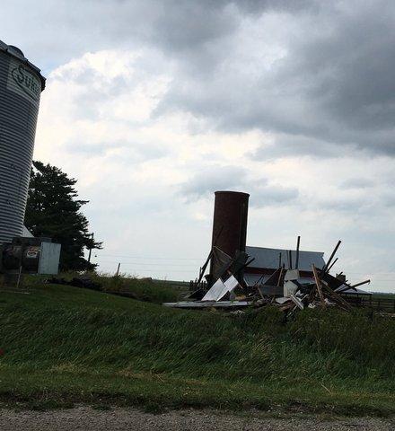 PHOTO GALLERY: Tornado, storm damage in Iowa towns