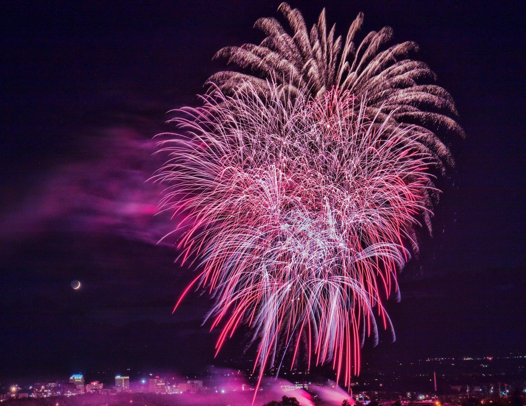 Memorial Park Fireworks