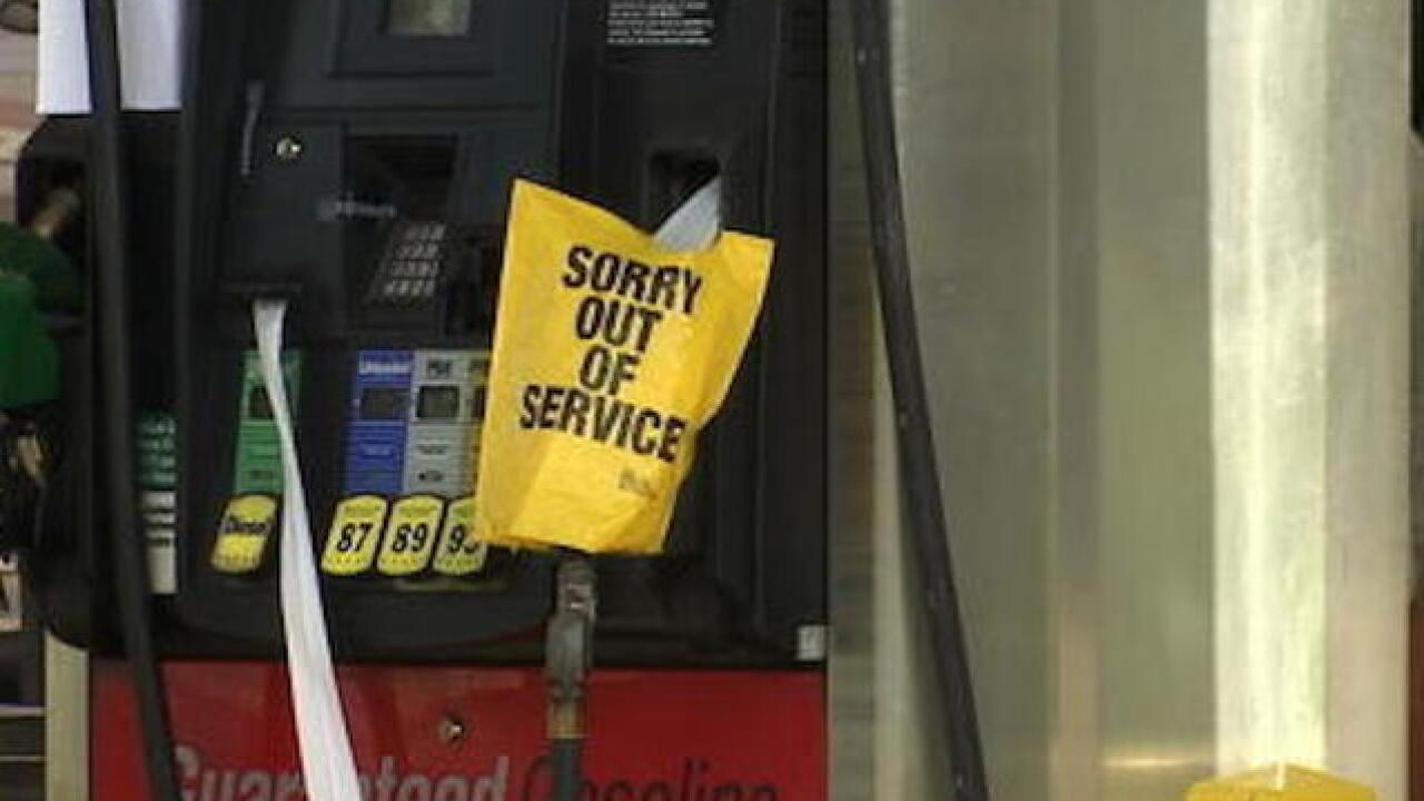 Out of service: some states seeing gas shortages