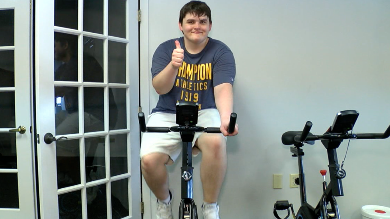 autism exercising