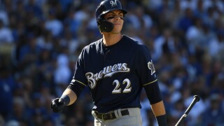 Christian Yelich changes walk-up song to 'Roxanne' following Body Issue criticism