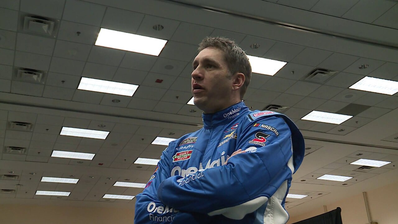 Encore presentation for Emporia's Elliott Sadler at Richmond Raceway
