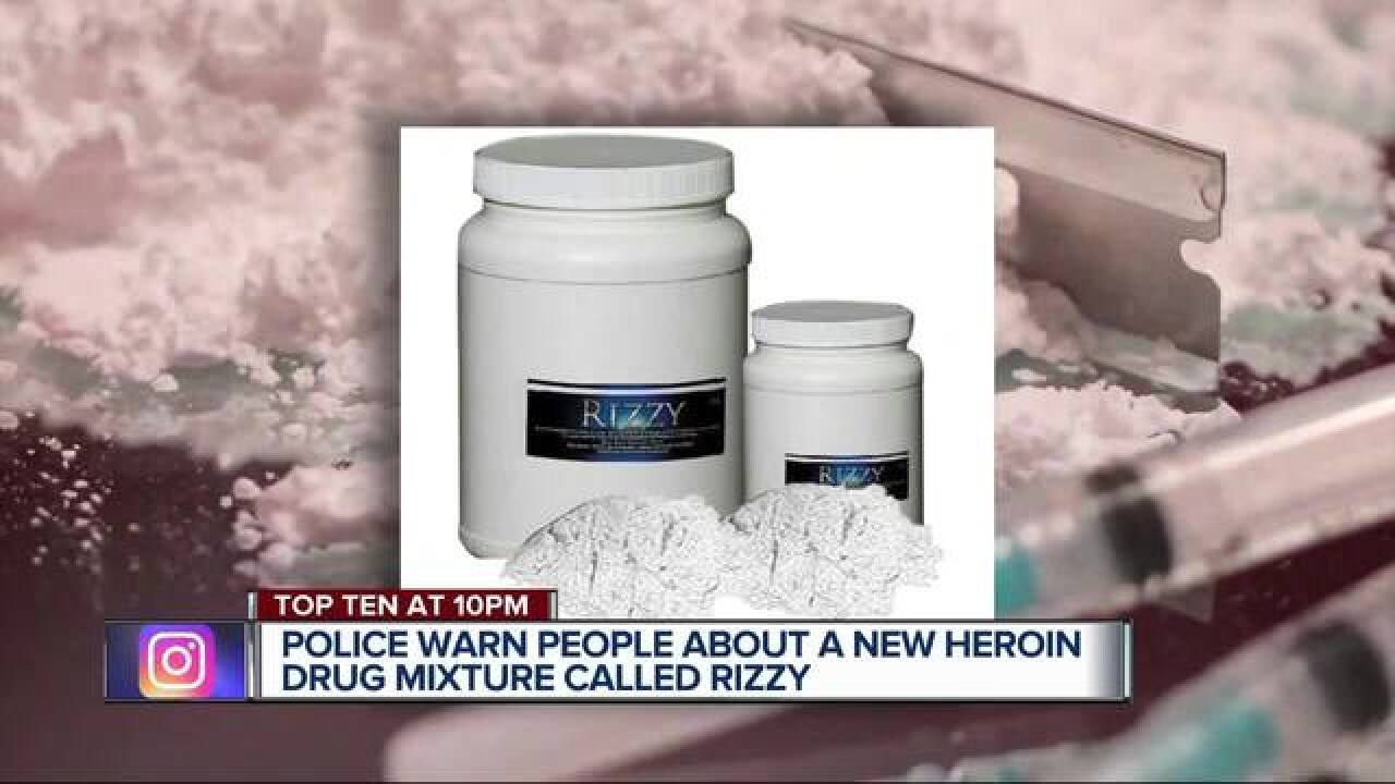 Additive in heroin known as 'Rizzy' could eat away flesh