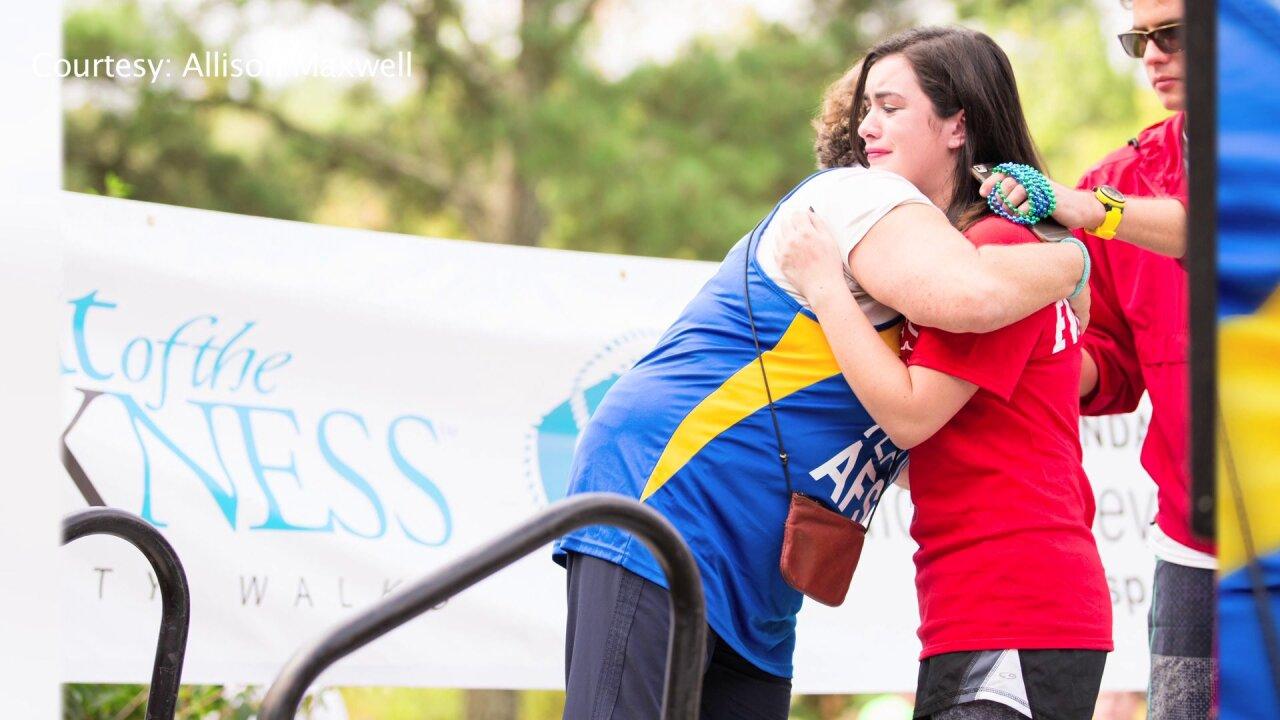 Walk raises more than $80,000 to preventsuicides
