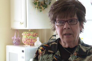 Cindy Newman has lived in the Highwoods Manufactured Home Community for 20 years.