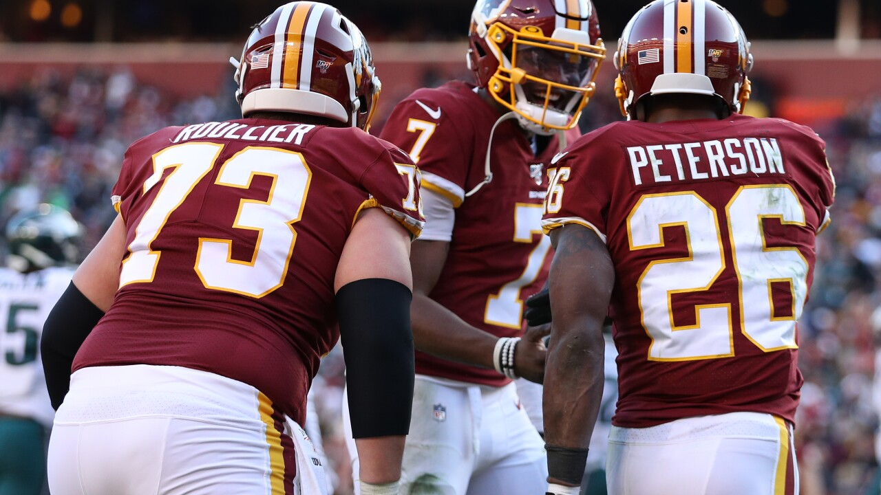 Redskins are in search of first division win when they host the Giants in home finale