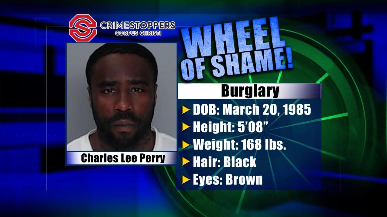 Wheel Of Shame Fugitive: Charles Lee Perry