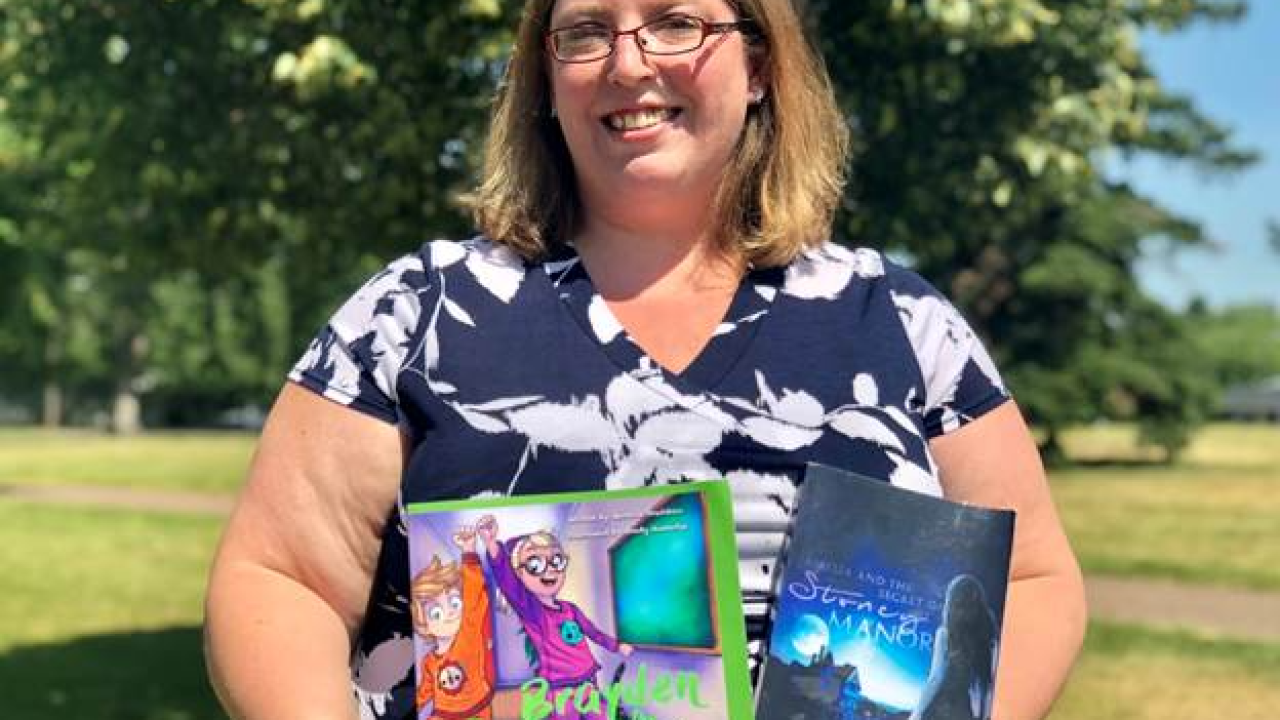 Great Falls woman follows her dream to become a children's author