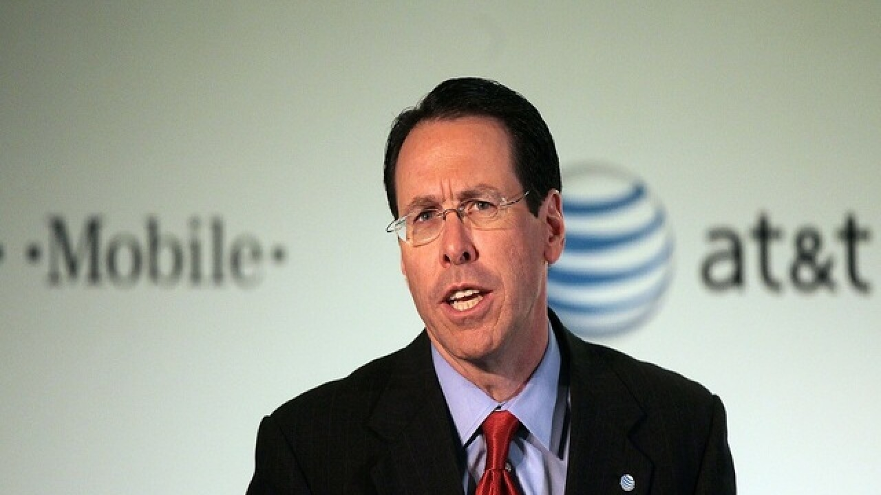 AT&T CEO optimistic about tax reform under Trump