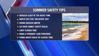 Medical Moment: Summer safety tips for parents