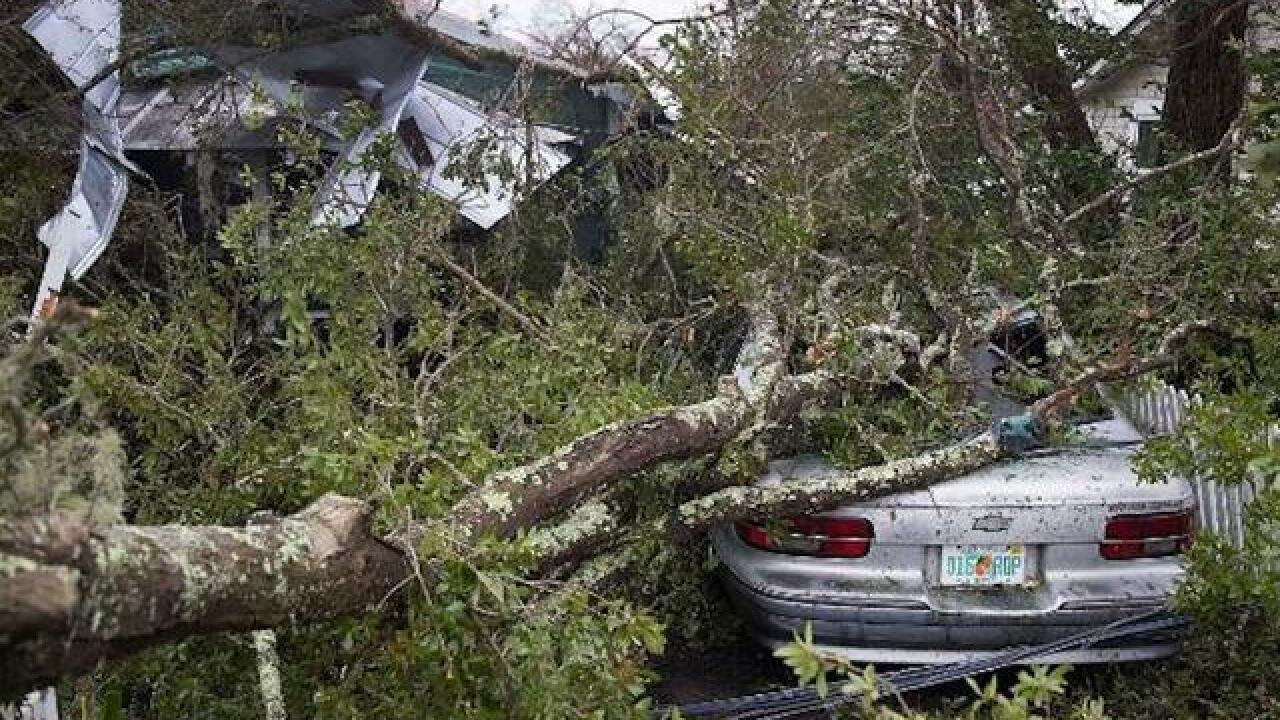 Duke Energy racing to restore power after storm