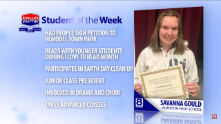 Student of the Week: Savanna Gould