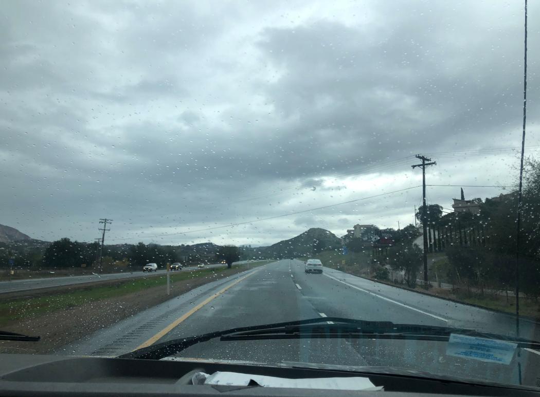 east county rain