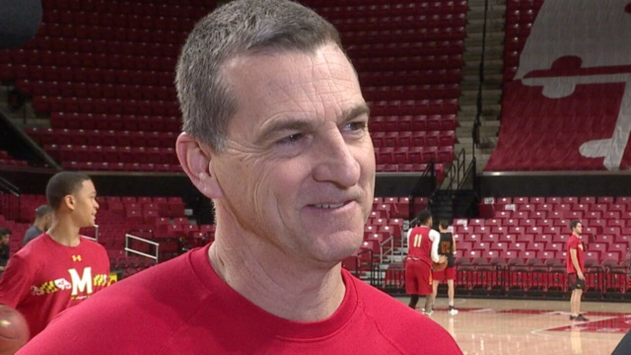 "Turgeon on upcoming Big Ten Tournament: ""There's no pressure on us."""