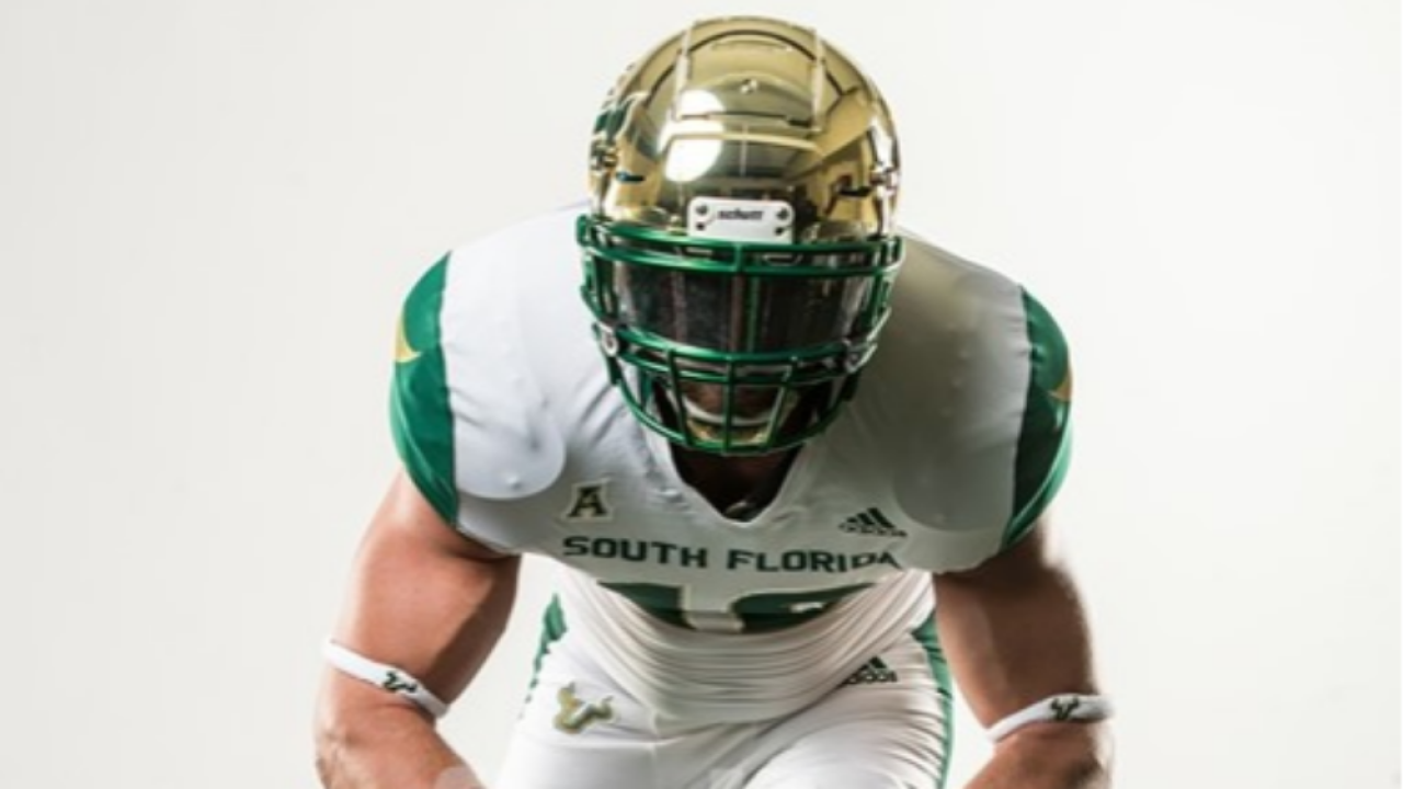 USF football new uniform 2