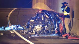 Wrong-way crash injures officers on SR51