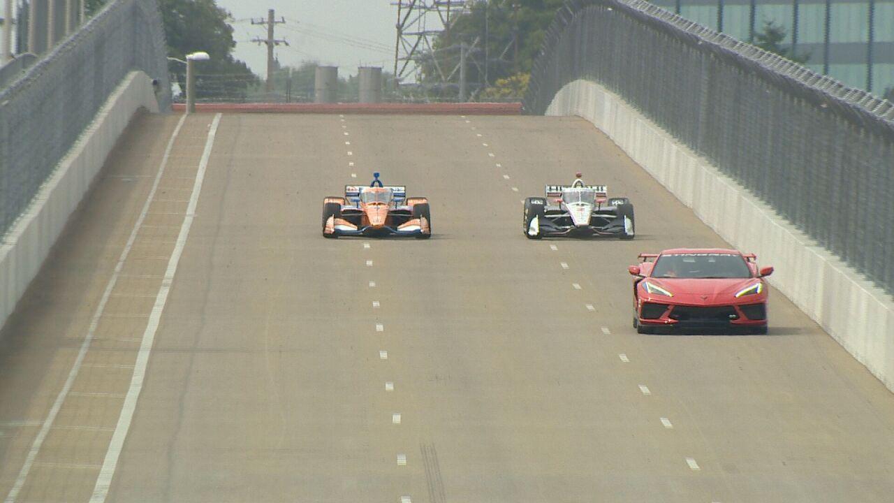 indycar first lap