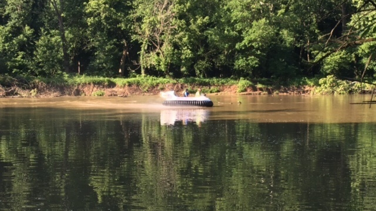 Search for 6-year-old boy in Flat Rock River